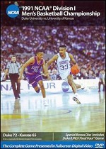 1991 NCAA Division I Men´s Basketball Championship - Duke Vs. Kansas