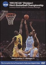 1993 NCAA Division I Men´s Basketball Championship - North Carolina Vs. Michigan