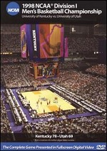 1998 NCAA Division I Men´s Basketball Championship - University Of Kentucky Vs. University Of Utah
