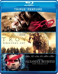 300 / Troy: Directors Cut / Alexander Revisited: The Final Cut (BLU-RAY)