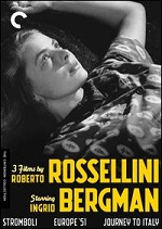 3 Films By Roberto Rossellini Starring Ingrid Bergman - Criterion Collection