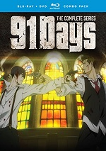 91 Days - The Complete Series (DVD + BLU-RAY)
