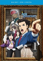 Ace Attorney - Season Two - Part One (DVD + BLU-RAY)