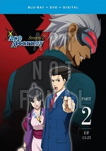 Ace Attorney - Season Two - Part Two (DVD + BLU-RAY)