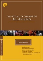 Actuality Dramas Of Allan King - Eclipse Series 24 - Criterion Collection