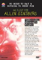 Allen Ginsberg - An Elegy