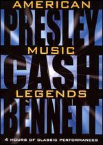 American Music Legends - Elvis Presley, Johnny Cash & Tony Bennett