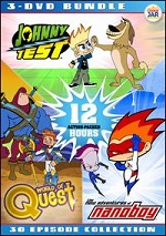 Animated Action Bundle - Johnny Test / Nanoboy / World Of Quest