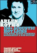 Arlen Roth's 150+ Acoustic Hot Licks