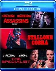 Assassins / Cobra / Specialist (BLU-RAY)