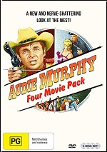 Audie Murphy - Four Movie Pack