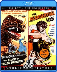 Beast Of Hollow Mountain / Neanderthal Man (BLU-RAY + DVD)