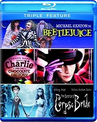 Beetlejuice / Charlie And The Chocolate Factory / Corpse Bride (BLU-RAY)