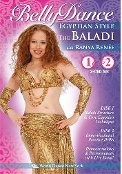 Egyptian Style - The Baladi - Vol. 1 & 2 With Ranya Renee - BellyDance