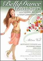 BellyDance Travel Steps With Layers, Accents & Step Combinations