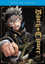 Black Clover: Season 1 - Part 1 (DVD + BLU-RAY)