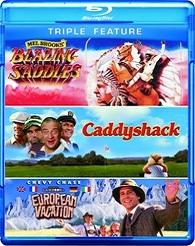 Blazing Saddles / Caddyshack / National Lampoons European Vacation (BLU-RAY)