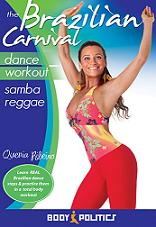 Brazilian Carnival Dance Workout With Quenia Ribeiro