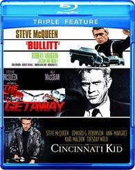 Bullitt / Getaway / Cincinnati Kid (BLU-RAY)