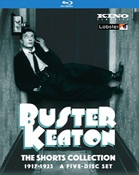 Buster Keaton - The Shorts Collection 1917-1923 (BLU-RAY)