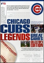 Chicago Cubs Legends - Great Games - Collector´s Edition