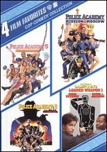 Cop Comedy Collection - 4 Film Favorites