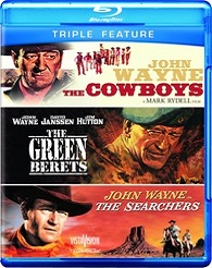 Cowboys / Green Berets / Searchers (BLU-RAY)
