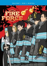 Fire Force: Season One - Part Two (DVD + BLU-RAY)