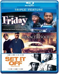 Friday / Menace II Society / Set It Off (BLU-RAY)
