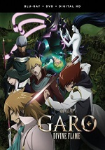 Garo The Movie: Divine Flame (DVD + BLU-RAY)