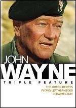 Green Berets / Flying Leathernecks / In Harms Way - John Wayne Triple Feature