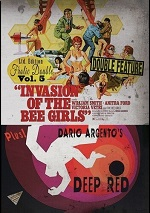 Invasion Of The Bee Girls / Deep Red