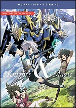 Knight's & Magic - The Complete Collection (DVD + BLU-RAY)