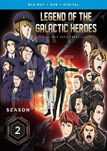 Legend Of The Galactic Heroes: Die Neue These - Season Two (DVD + BLU-RAY)