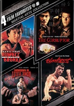 Martial Arts Collection - 4 Film Favorites