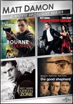 Matt Damon - 4-Movie Spotlight Series