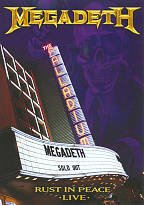 Megadeth - Rust In Peace - Live