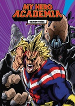 My Hero Academia - Season Three - Part One - Limited Edition (DVD + BLU-RAY)