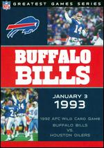NFL Game Archives - Buffalo Bills vs. Houston Oilers 1993 AFC Playoffs