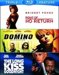 Point Of No Return / Domino / Long Kiss Goodnight (BLU-RAY)