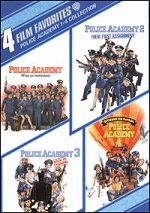 Police Academy 1-4 Collection - 4 Film Favorites