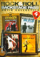 Rock & Roll Backstage Pass - 4 Movie Collection