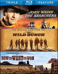 Searchers / Wild Bunch: The Original Directors Cut / How The West Was Won (BLU-RAY)