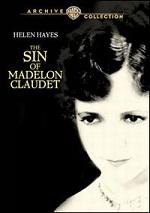 Sin Of Madelon Claudet