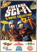 Vintage Sci-Fi Movie Collection