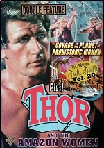 Voyage To The Planet Of Prehistoric Women / Thor And The Amazon Women