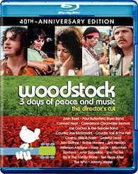 Woodstock: 3 Days Of Peace & Music - Directors Cut - 40th Anniversary Edition (BLU-RAY)