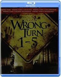 Wrong Turn 1-5 (BLU-RAY)