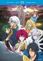 Yona Of The Dawn - Part Two (DVD + BLU-RAY)