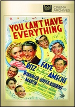 You Can´t Have Everything